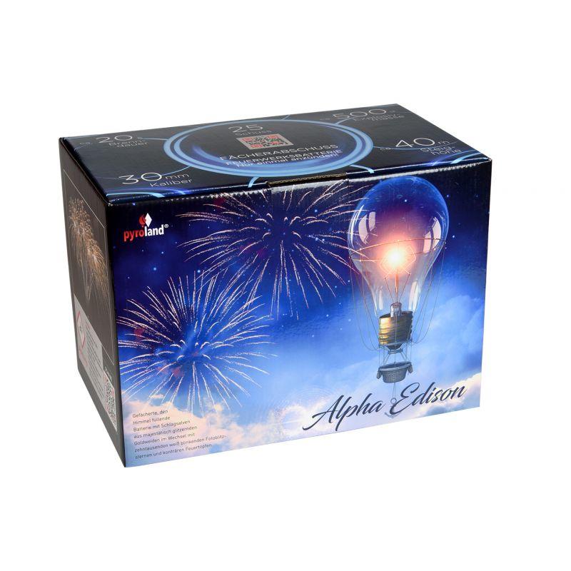 Jetzt Alpha Edison 25-Schuss-Feuerwerk-Batterie ab 34.99€ bestellen