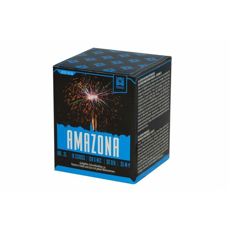 Jetzt Amazona 10-Schuss-Feuerwerk-Batterie ab 8.92€ bestellen