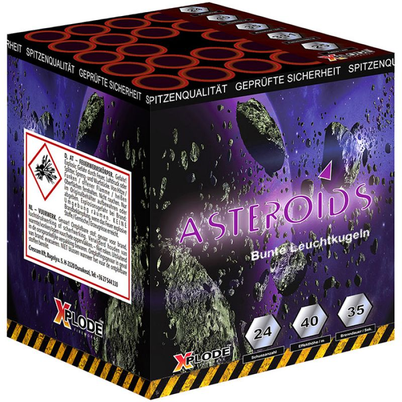 Jetzt Asteroids 24-Schuss-Feuerwerk-Batterie ab 18.69€ bestellen