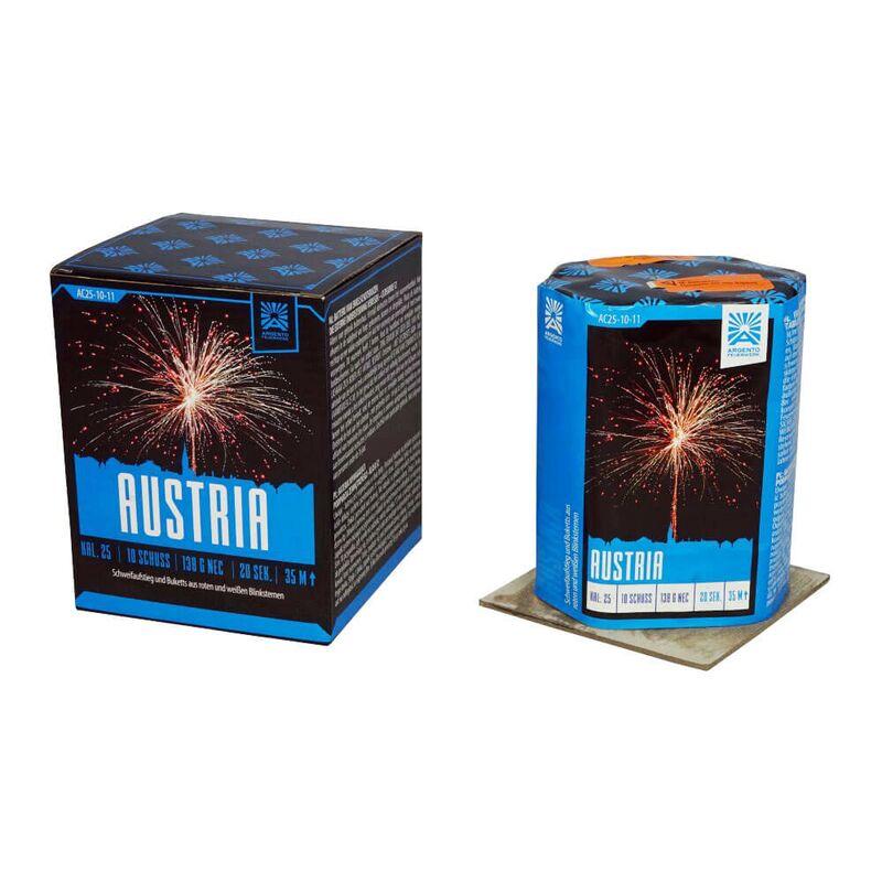 Jetzt Austria 10-Schuss-Feuerwerk-Batterie ab 7.64€ bestellen