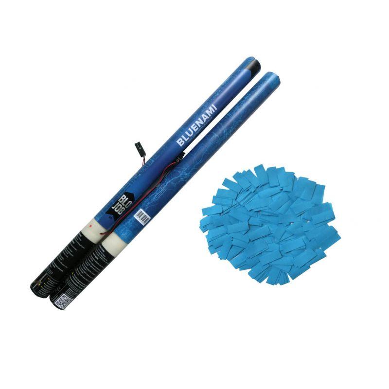 Jetzt Bluenami 80cm elektrisch Papierflitter blau ab 1.91€ bestellen