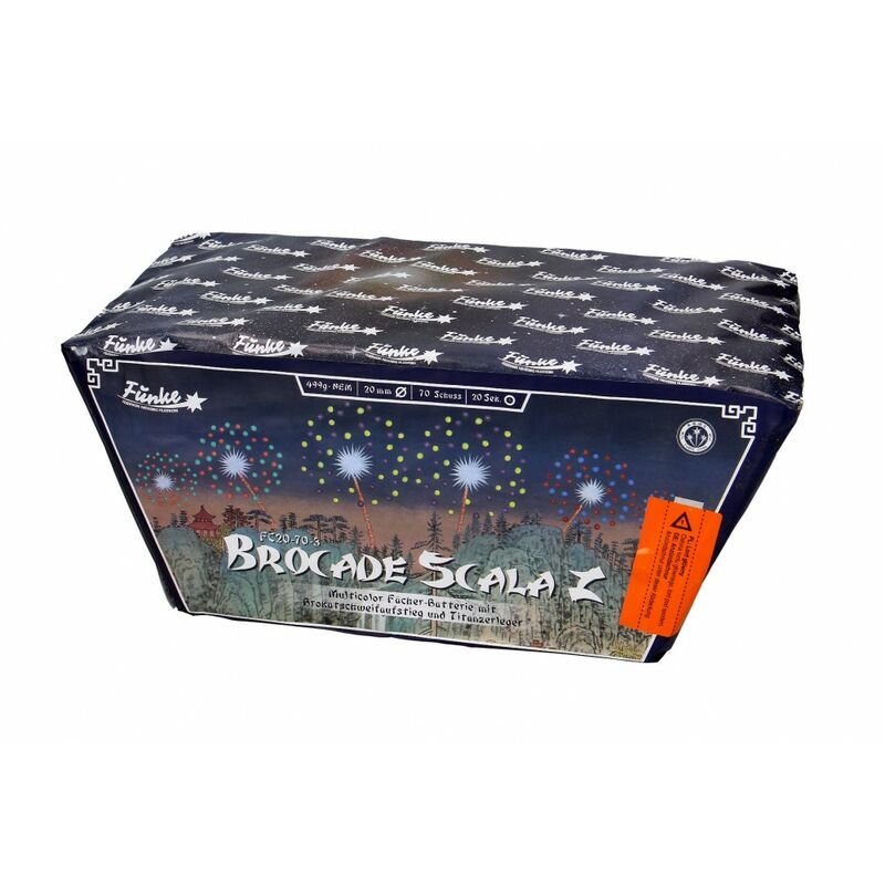 Jetzt Brocade Scala Z 70-Schuss-Feuerwerk-Batterie ab 32.99€ bestellen