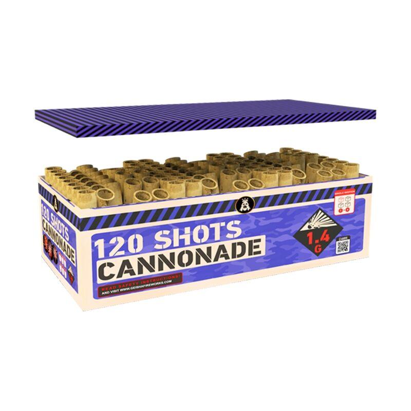 Jetzt Cannonade 120-Schuss-Feuerwerkverbund ab 98.59€ bestellen