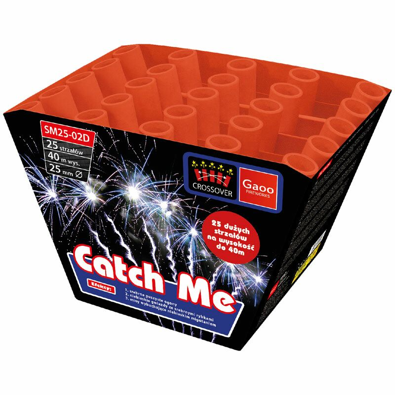 Jetzt Catch Me 25-Schuss-Feuerwerk-Batterie ab 27.19€ bestellen