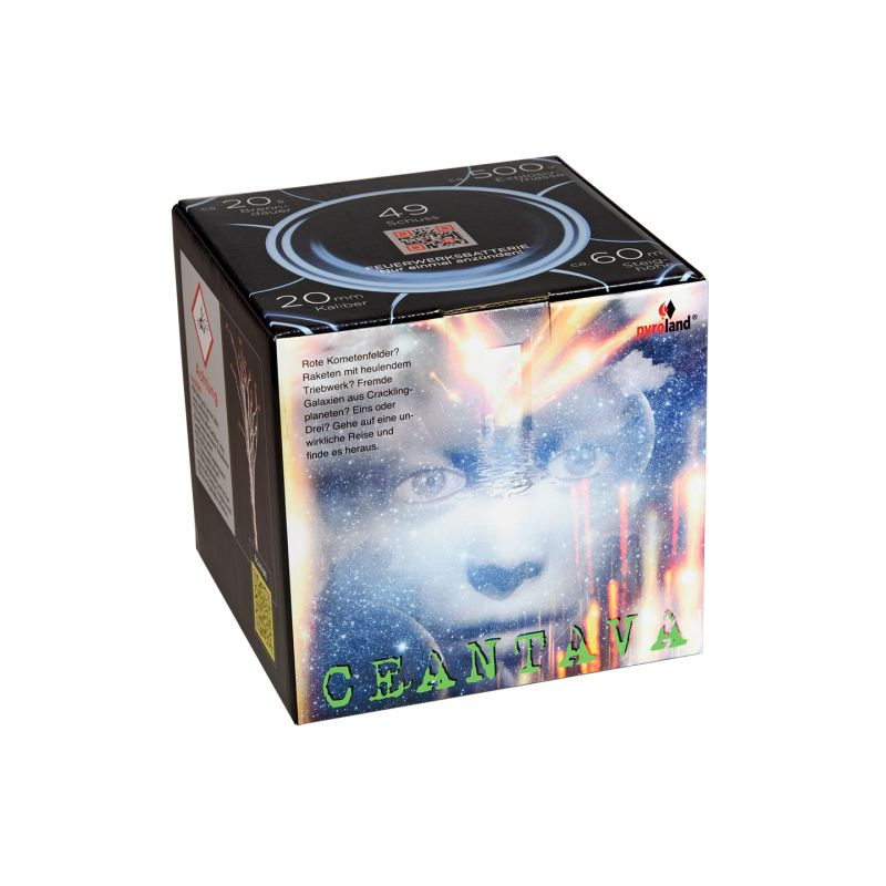Jetzt Ceantava 49-Schuss-Feuerwerk-Batterie ab 29.99€ bestellen
