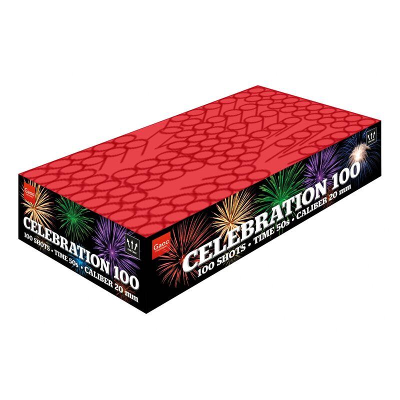 Jetzt Celebration 100-6 100-Schuss-Feuerwerk-Batterie ab 61.19€ bestellen
