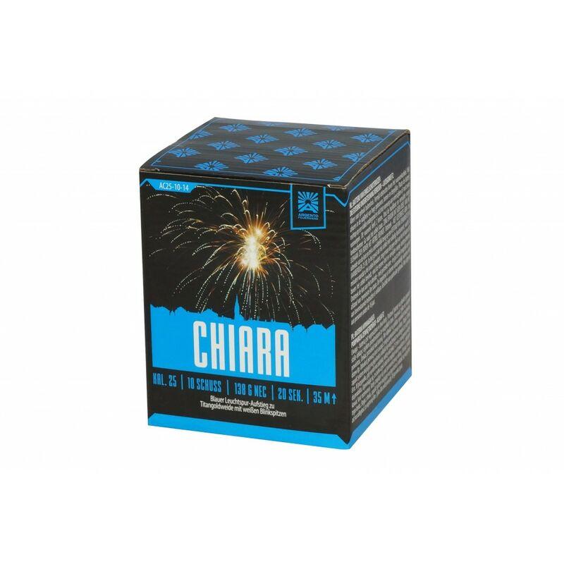 Jetzt Chiara 10-Schuss-Feuerwerk-Batterie ab 7.64€ bestellen