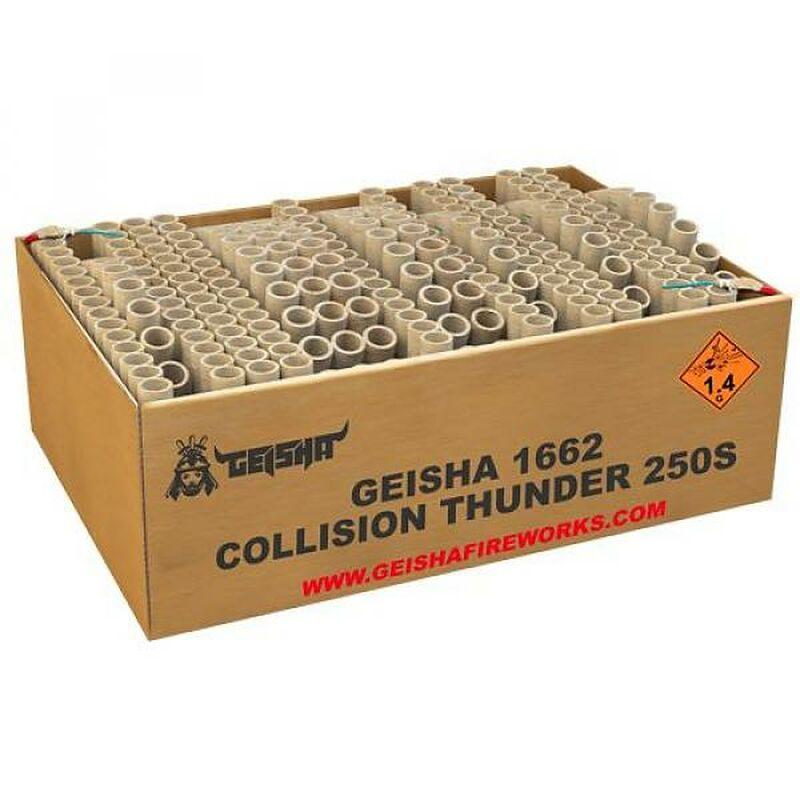Jetzt Collision Thunder 250-Schuss-Feuerwerkverbund ab 212.49€ bestellen