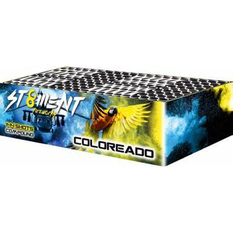 Jetzt Coloreado 144-Schuss-Feuerwerkverbund ab 115.59€ bestellen