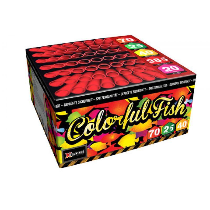Jetzt Colorful Fish 70-Schuss-Feuerwerk-Batterie ab 22.09€ bestellen