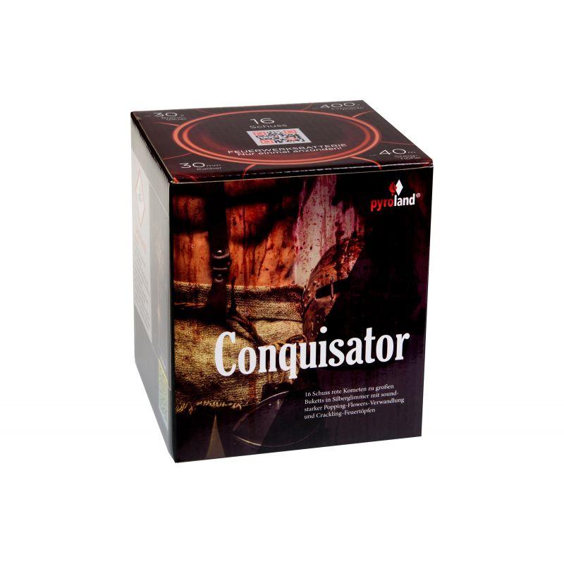 Jetzt Conquisator 16-Schuss-Feuerwerk-Batterie ab 22.99€ bestellen