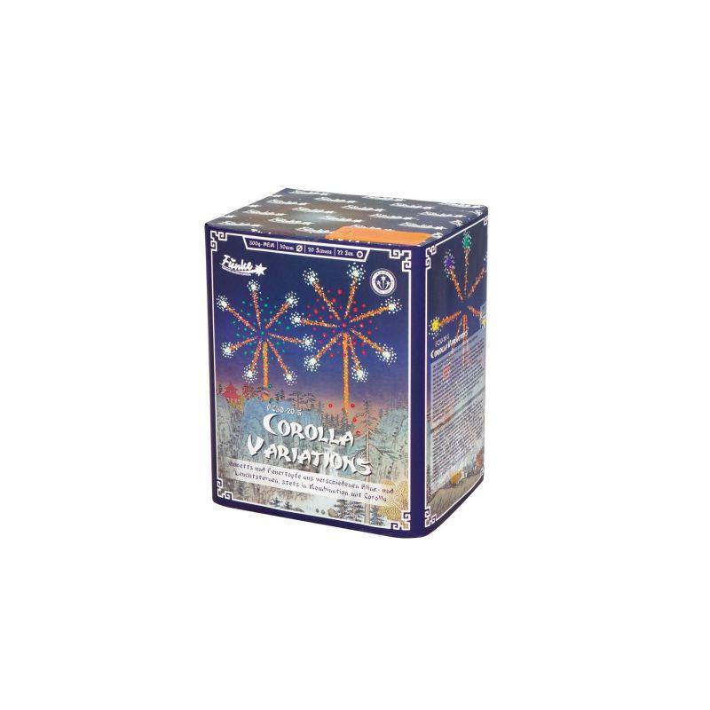 Jetzt Corolla Variations 20-Schuss-Feuerwerk-Batterie ab 33.14€ bestellen