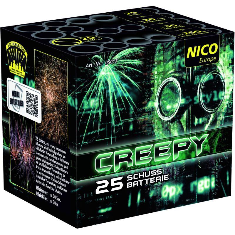 Jetzt Creepy 25-Schuss-Feuerwerk-Batterie ab 8.49€ bestellen