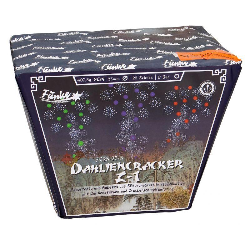 Jetzt Dahliencracker Z-1 25-Schuss-Feuerwerk-Batterie ab 27.19€ bestellen