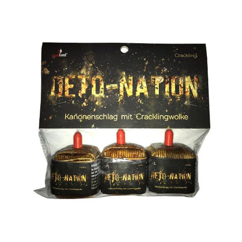 Jetzt Deto-Nation 3er Pack kubische Kanonenschläge ab 2.5€ bestellen