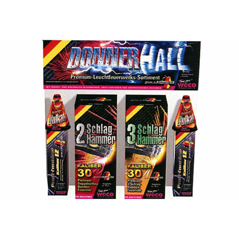 Jetzt Donnerhall Premium-Leuchtfeuerwerk-Sortiment ab 19.95€ bestellen