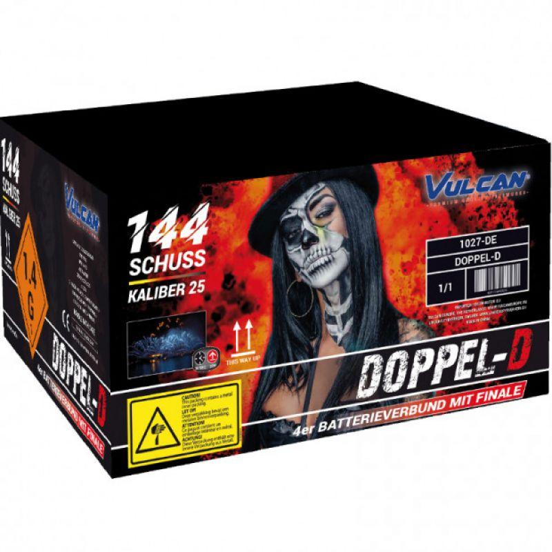 Jetzt Doppel D 144-Schuss-Feuerwerkverbund ab 169.15€ bestellen