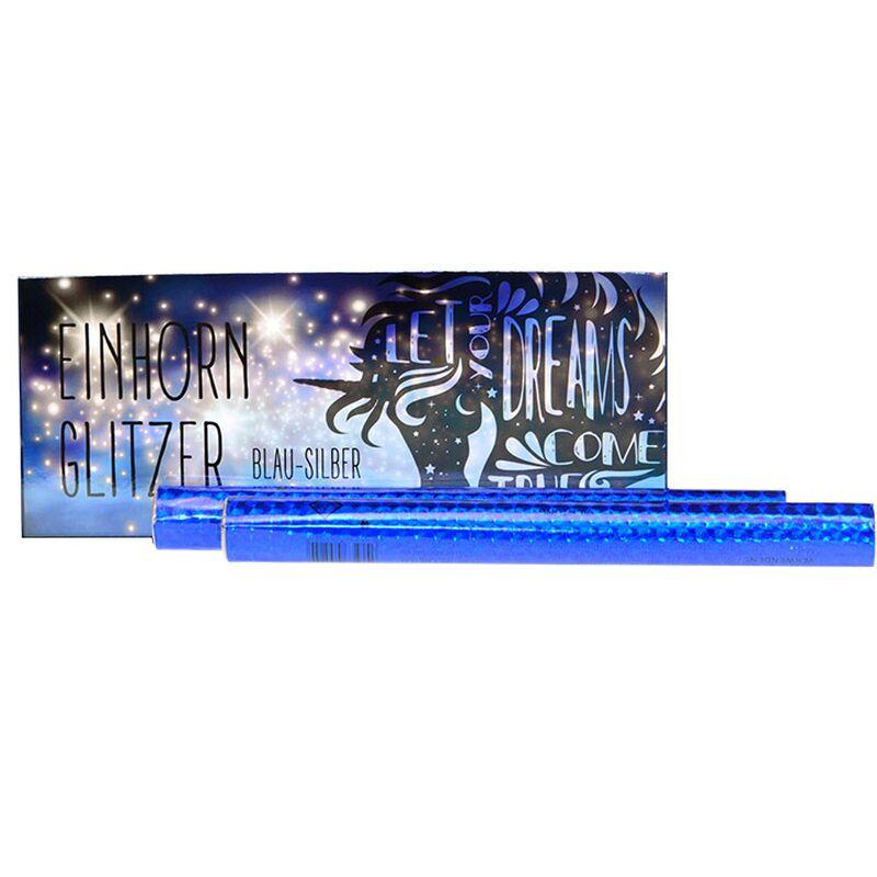 Jetzt Einhornglitzer Blau/Silber 45s ab 11.99€ bestellen