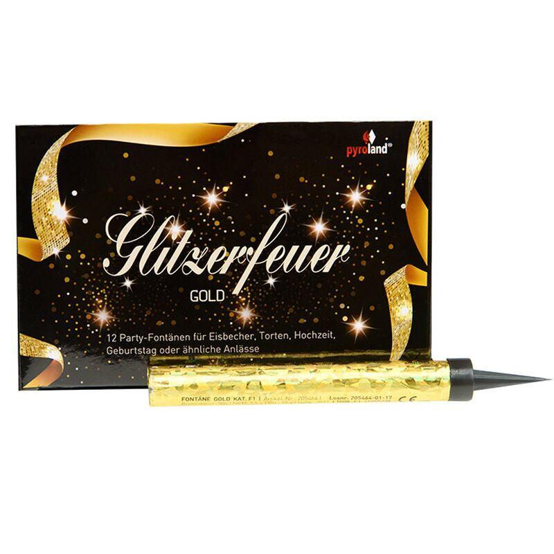 Jetzt Eisfontäne-Glitzerfeuer Gold, 50s ab 4.99€ bestellen