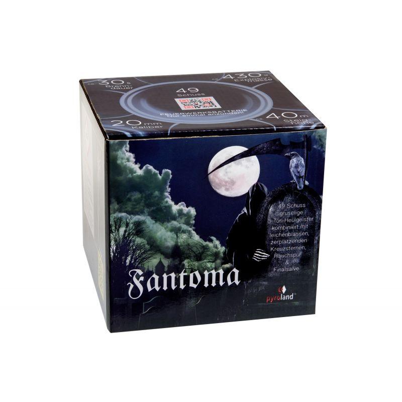 Jetzt Fantoma 49-Schuss-Feuerwerk-Batterie ab 24.99€ bestellen