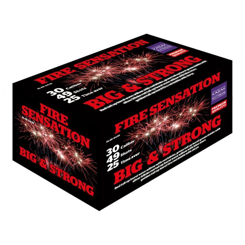 Jetzt Fire Sensation 49-Schuss-Feuerwerkverbund ab 84€ bestellen