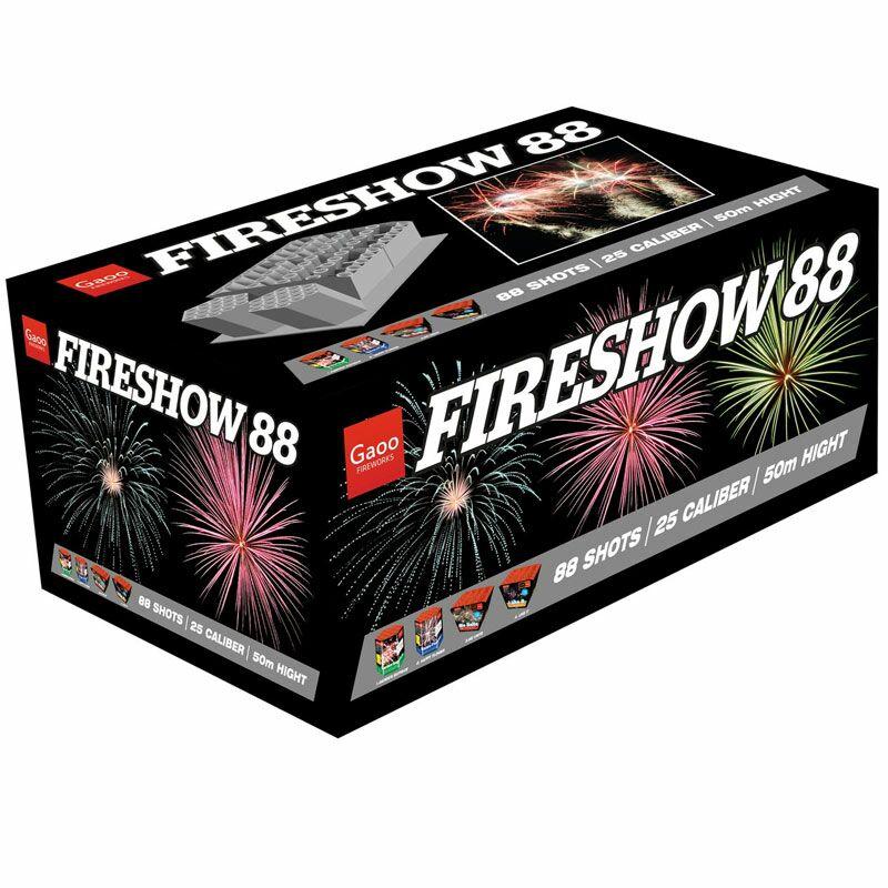 Jetzt Fireshow 88-Schuss-Feuerwerkverbund ab 110.49€ bestellen