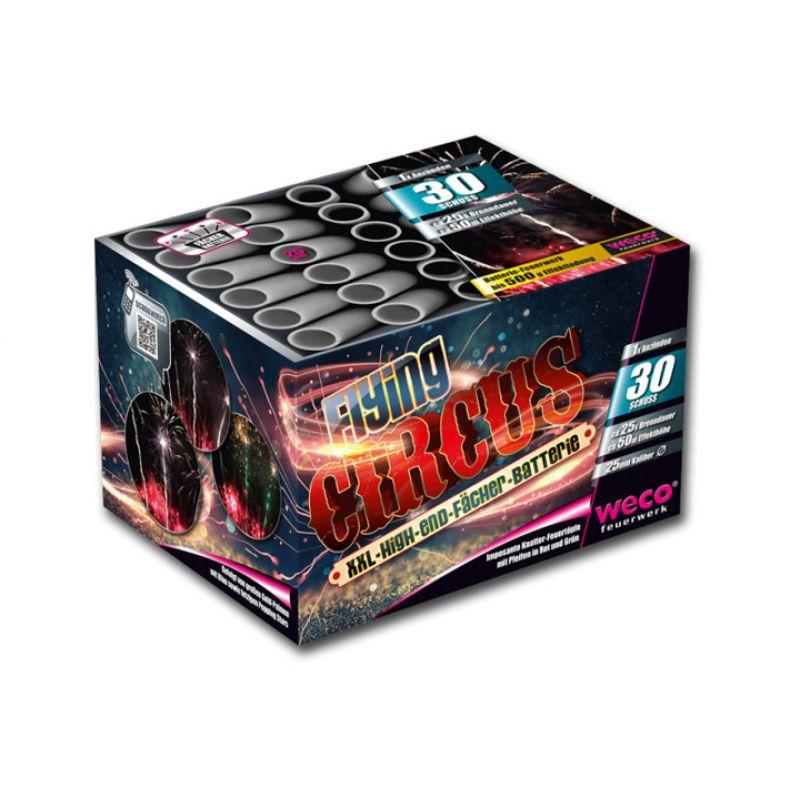 Jetzt Flying Circus 30-Schuss-Feuerwerk-Batterie ab 22.94€ bestellen