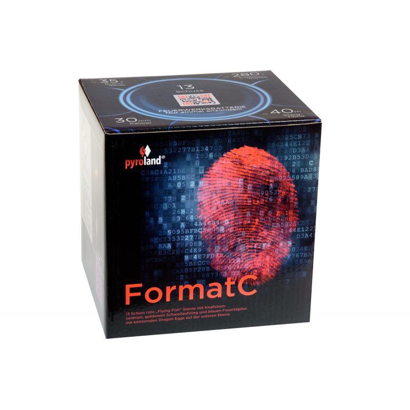 Jetzt Format C 13-Schuss-Feuerwerk-Batterie ab 17.99€ bestellen