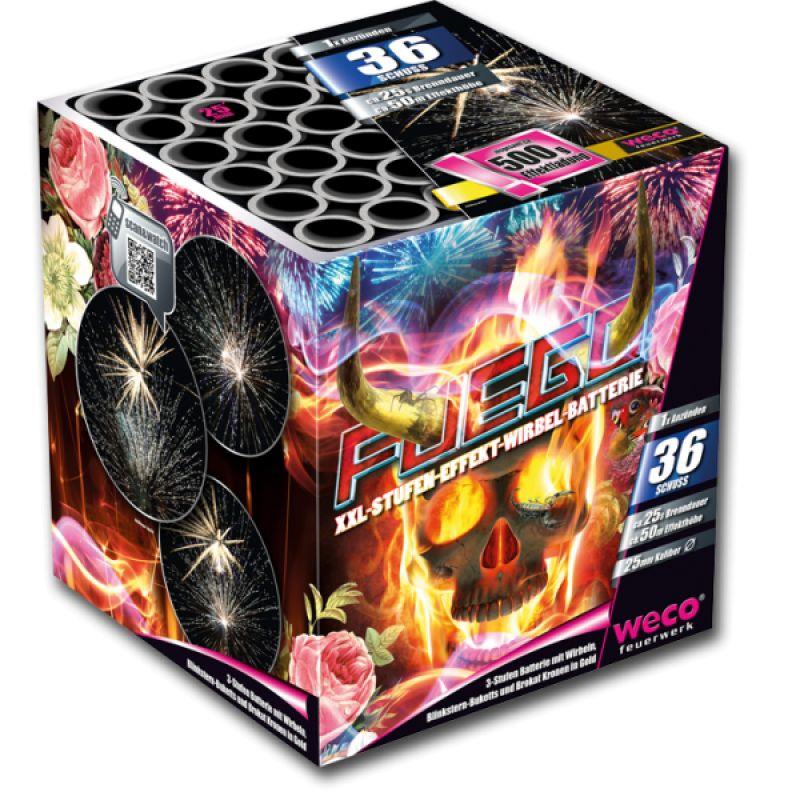 Jetzt Fuego 36-Schuss-Feuerwerk-Batterie ab 27.19€ bestellen