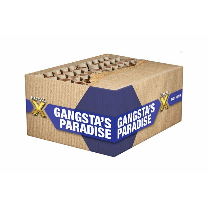 Jetzt Gangsta's Paradise 50-Schuss-Feuerwerkverbund (Stahlkäfig) ab 72.24€ bestellen