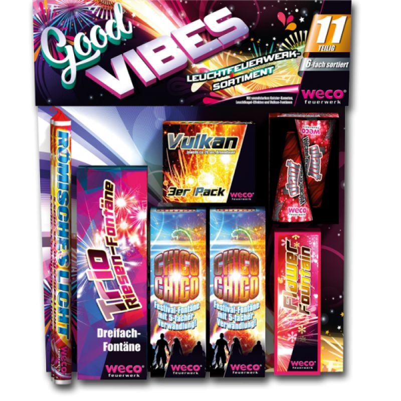 Jetzt Good Vibes Leucht-Sortiment ab 11.89€ bestellen