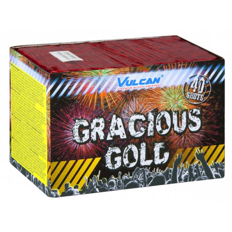 Jetzt Gracious Gold 40-Schuss-Feuerwerk-Batterie ab 33.14€ bestellen