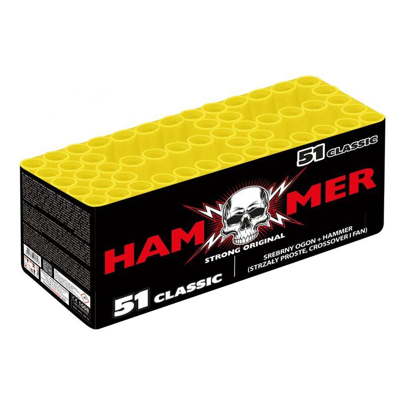 Jetzt Hammer Classic 51-Schuss-Feuerwerkverbund ab 64€ bestellen