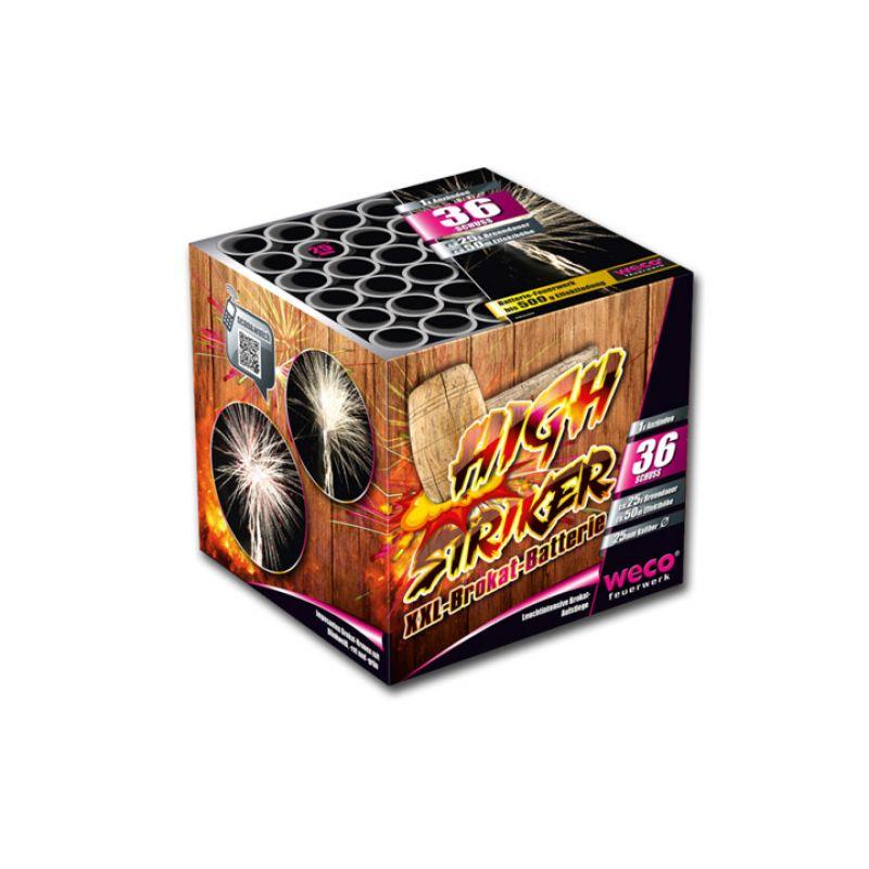 Jetzt High Striker 36-Schuss-Feuerwerk-Batterie ab 19.99€ bestellen