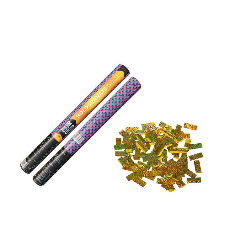 Jetzt Hologranate Gold 50cm Laserkonfetti gold ab 4.49€ bestellen