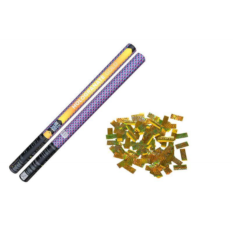 Jetzt Hologranate Gold 80cm Laserkonfetti gold ab 4.6€ bestellen