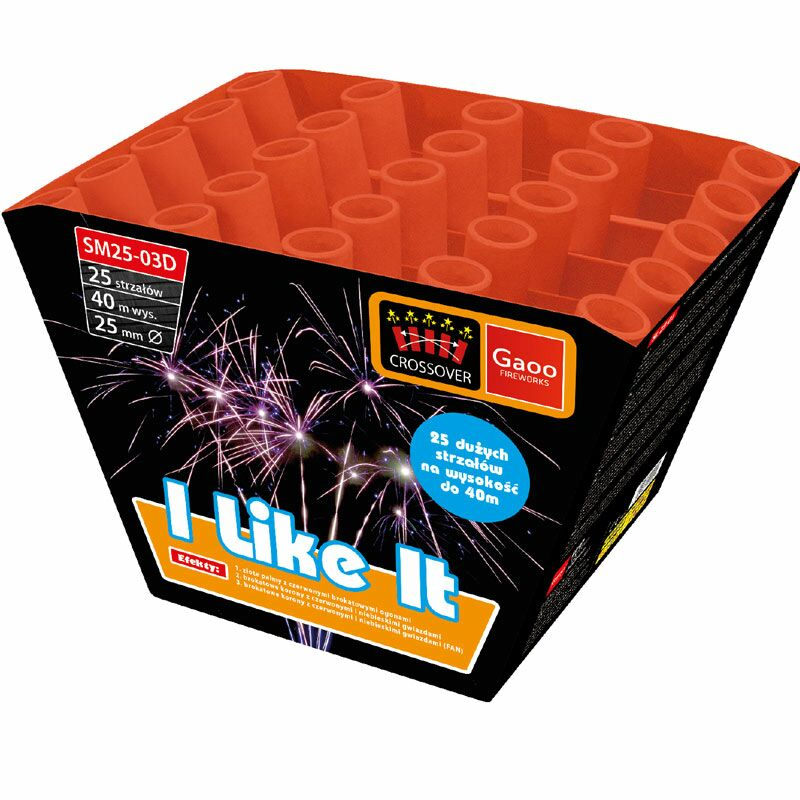Jetzt I Like It 25-Schuss-Feuerwerk-Batterie ab 19.99€ bestellen