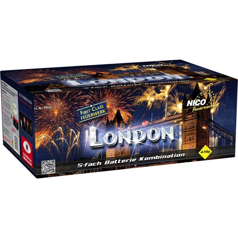 Jetzt London 123-Schuss-Feuerwerkverbund ab 50.99€ bestellen