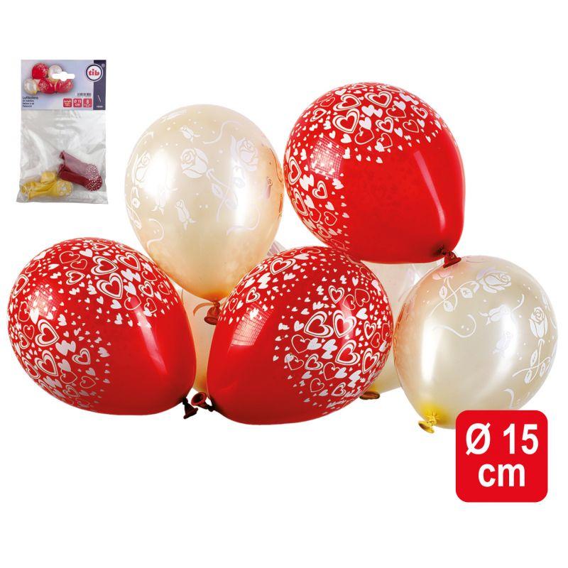 Jetzt Luftballons Herzen&Rosen ab 2.5€ bestellen