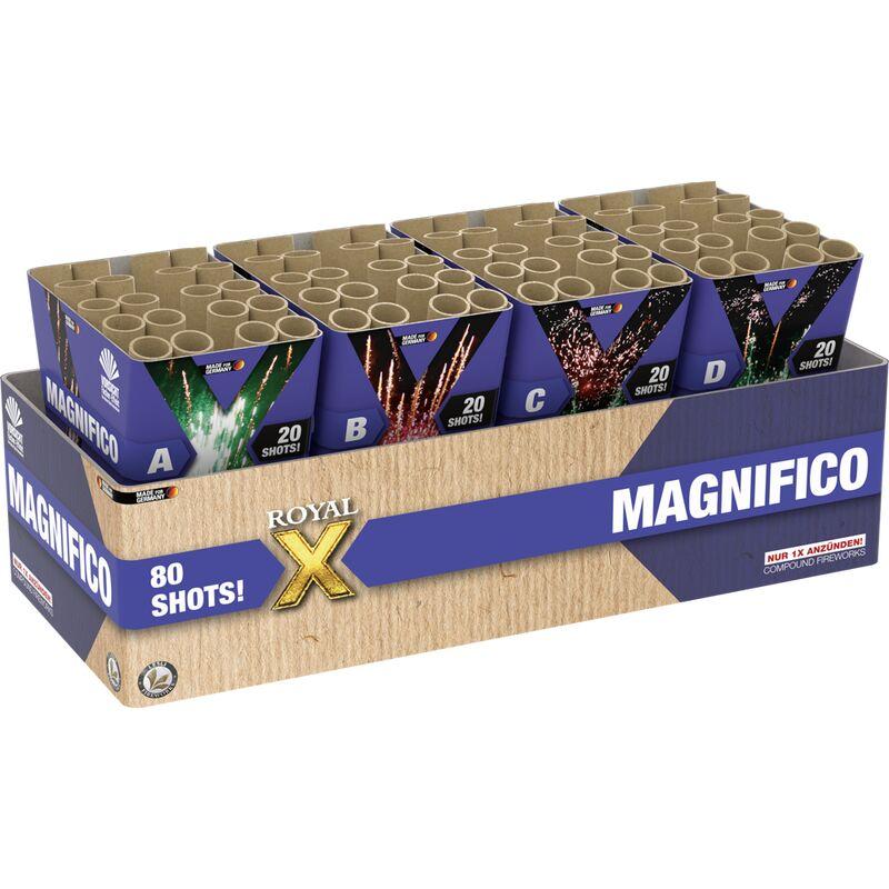 Jetzt Magnifico 80-Schuss-Verbundfeuerwerk ab 50.99€ bestellen