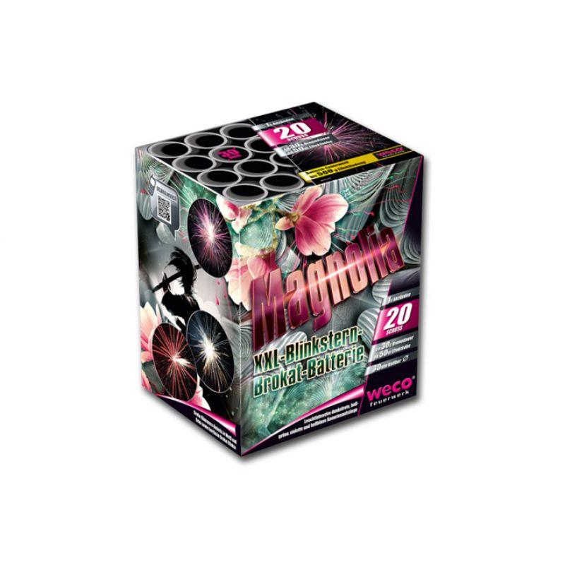 Jetzt Magnolia 20-Schuss-Feuerwerk-Batterie ab 23.79€ bestellen
