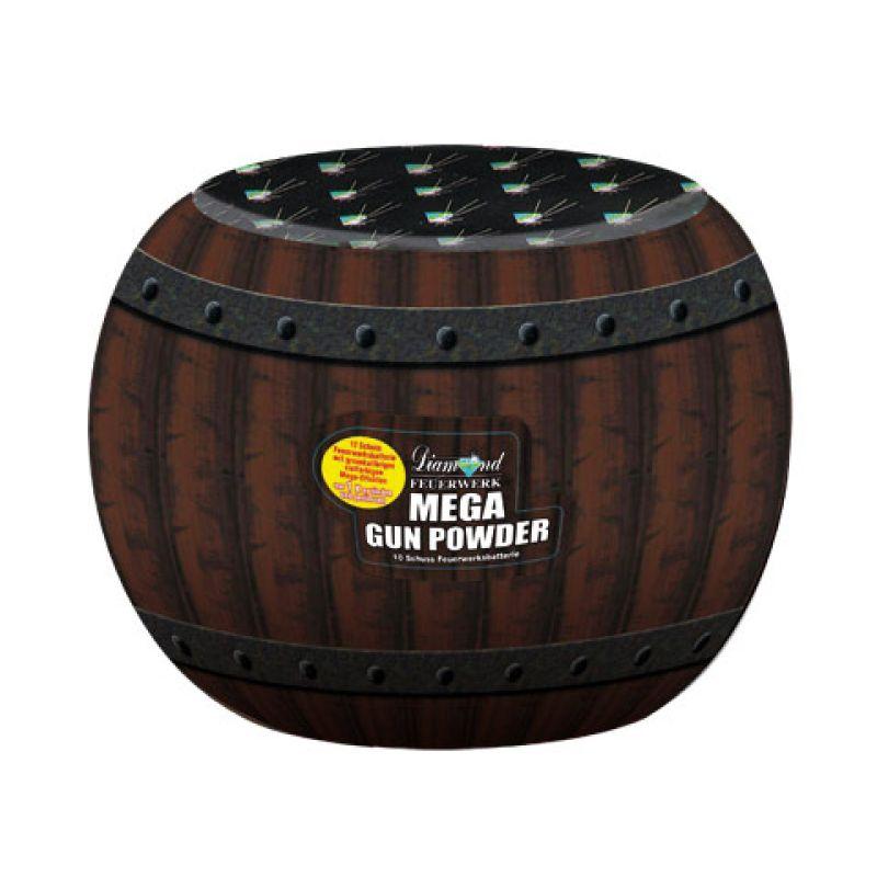 Jetzt Mega Gun Powder 10-Schuss-Feuerwerk-Batterie ab 11.04€ bestellen
