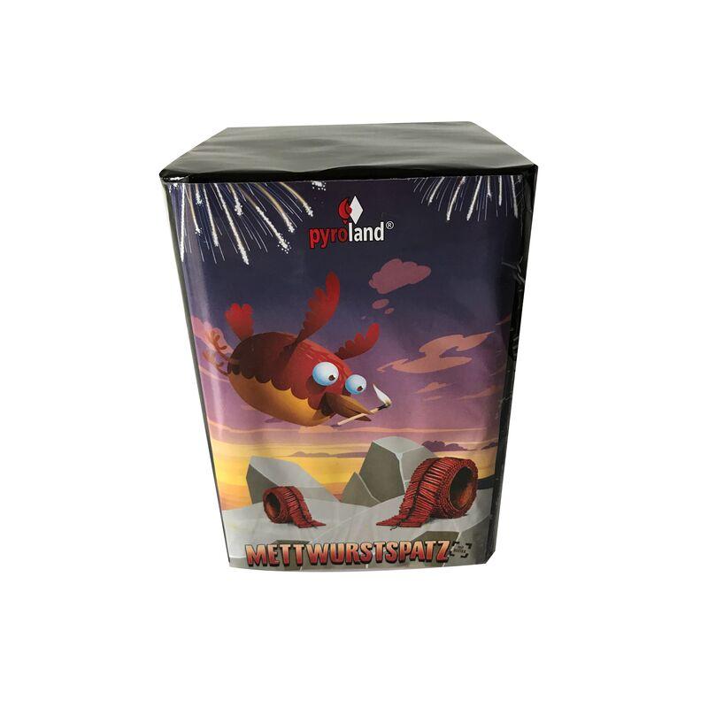 Jetzt METTWURSTSPATZ 16-Schuss-Feuerwerk-Batterie ab 9.99€ bestellen