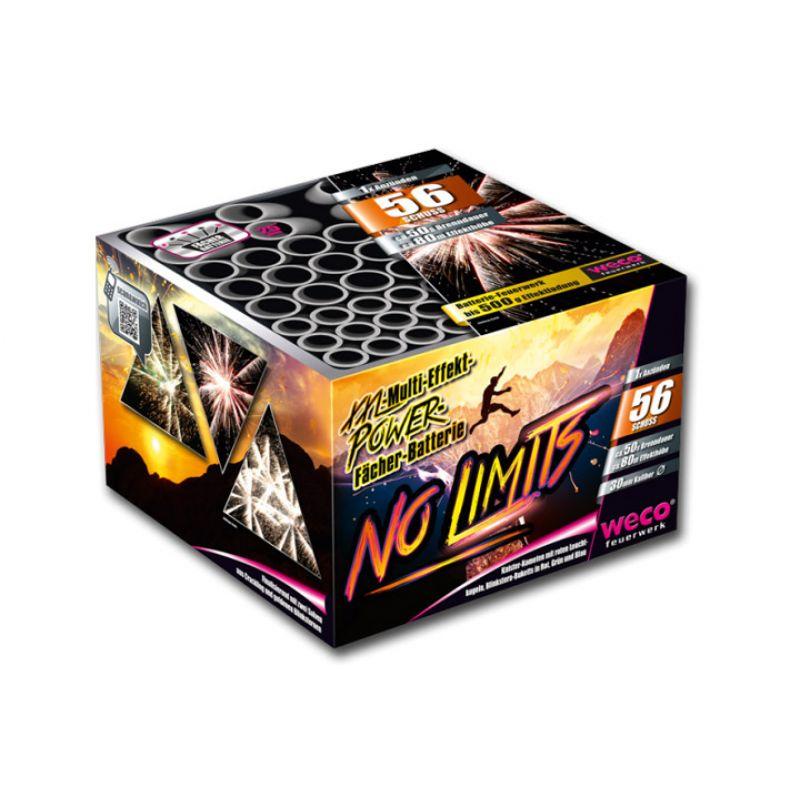 Jetzt No Limits 56-Schuss-Feuerwerk-Batterie ab 33.99€ bestellen