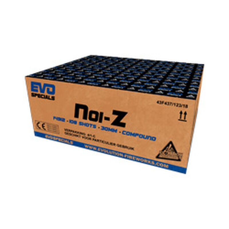 Jetzt Noi-Z 108-Schuss-Feuerwerkverbund ab 139.99€ bestellen