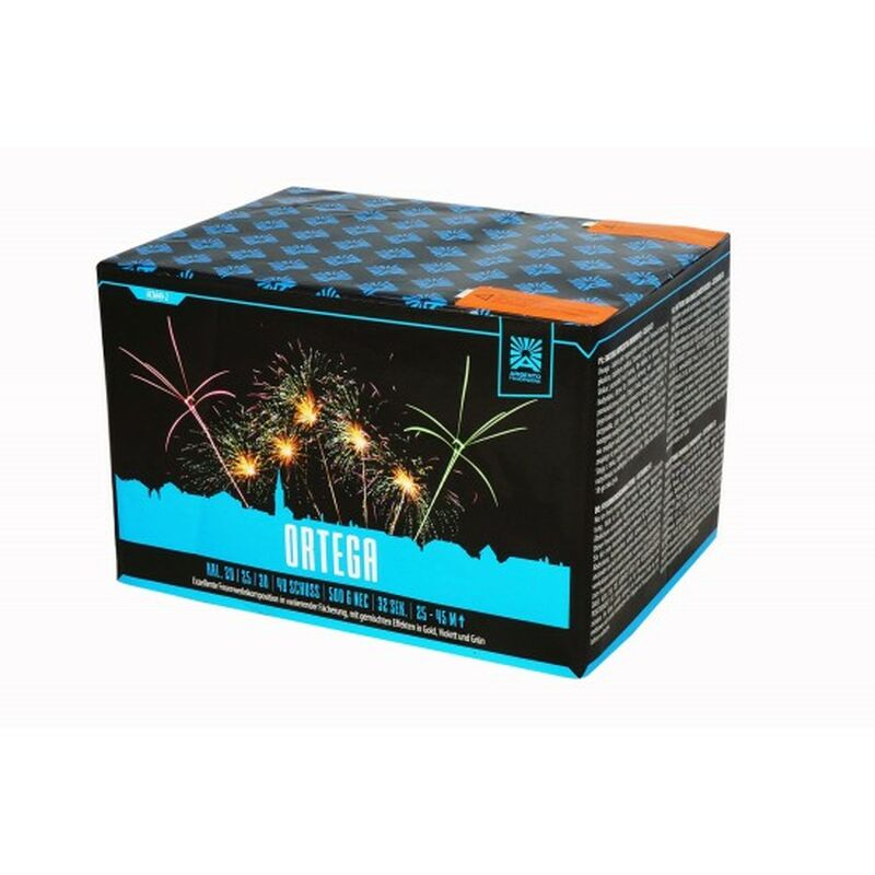 Jetzt Ortega 49-Schuss-Feuerwerk-Batterie ab 37.99€ bestellen