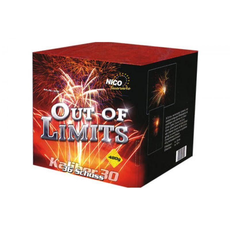 Jetzt Out of Limits 36-Schuss-Feuerwerk-Batterie ab 28.89€ bestellen