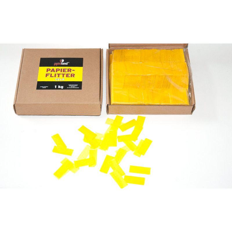 Jetzt Papier Flitter - Gelb 1kg (Pappschachtel) ab 14.99€ bestellen