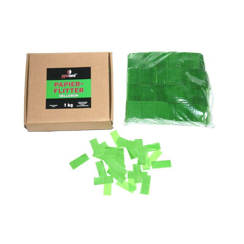 Jetzt Papier Flitter - Hellgrün 1kg (Pappschachtel) ab 14.99€ bestellen