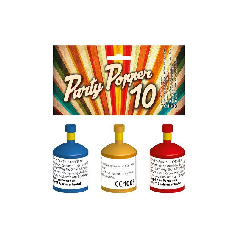 Jetzt Party Popper 10er Set ab 1.5€ bestellen